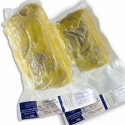 Foie gras de canard entier mi-cuit, façon torchon