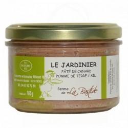 """Pâté de canard """"jardinier""""pomme de terre/ail"""