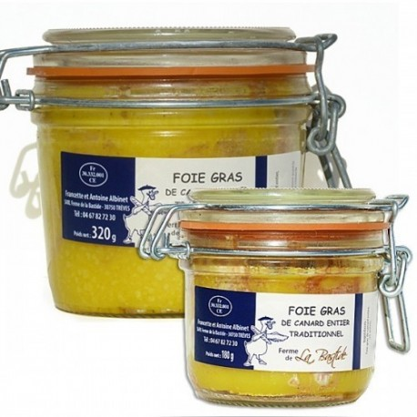 Foie gras de canard entier traditionnel