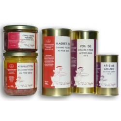 Spécialité à bases de foie gras
